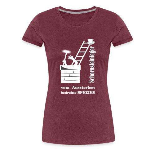 schornsteinfeger Kaminfeger sterben aus - Frauen Premium T-Shirt
