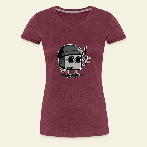 Léon touchpad - T-shirt Premium Femme