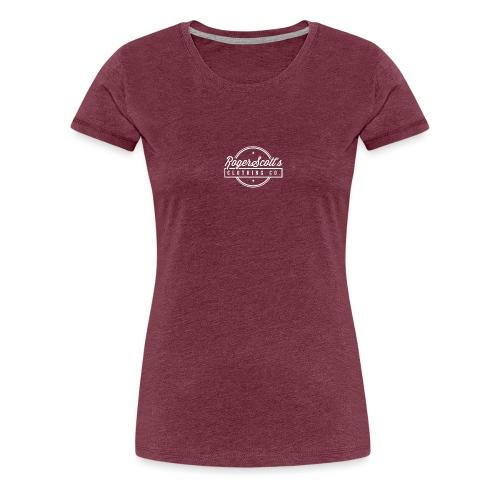 Roger Scott Black T-Shirt - Premium T-skjorte for kvinner
