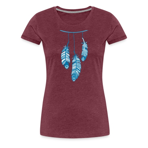 Koszulka indianie - Koszulka damska Premium