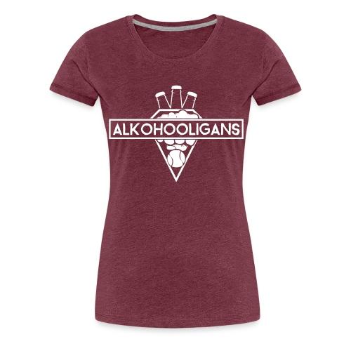 VECTOR_AI_alkohooligans_l - Frauen Premium T-Shirt
