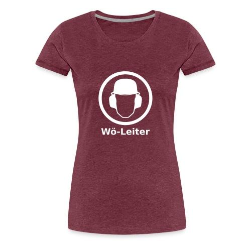 Wö Leiter - Frauen Premium T-Shirt