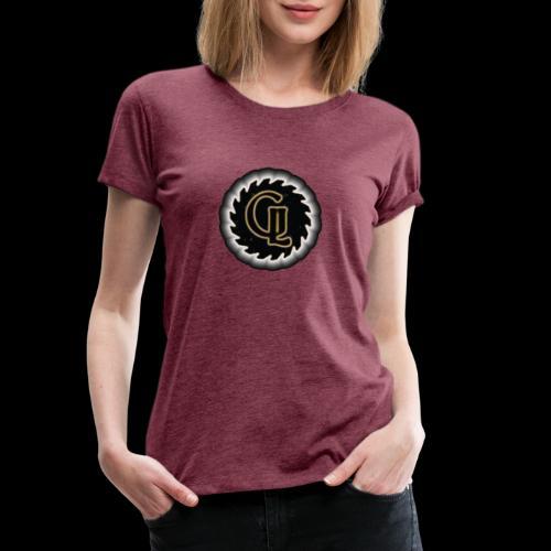 Glimmer logo - Premium T-skjorte for kvinner