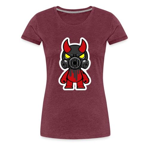 Oni black - Dame premium T-shirt