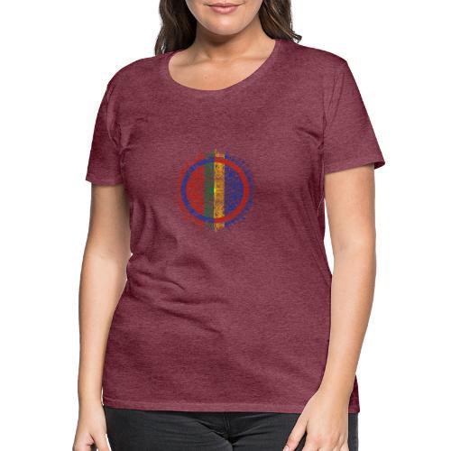 Samisk flagg - Premium T-skjorte for kvinner