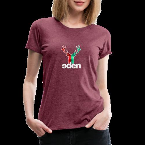 geweihbär EDEN - Frauen Premium T-Shirt