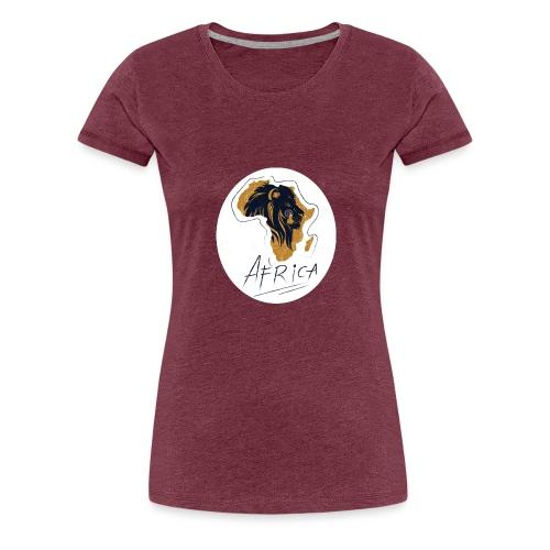 Africa - Premium T-skjorte for kvinner
