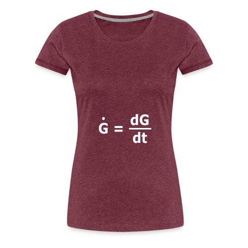 g punk weisst png - Frauen Premium T-Shirt