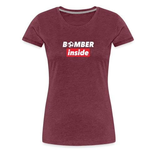 bomber inside - Maglietta Premium da donna