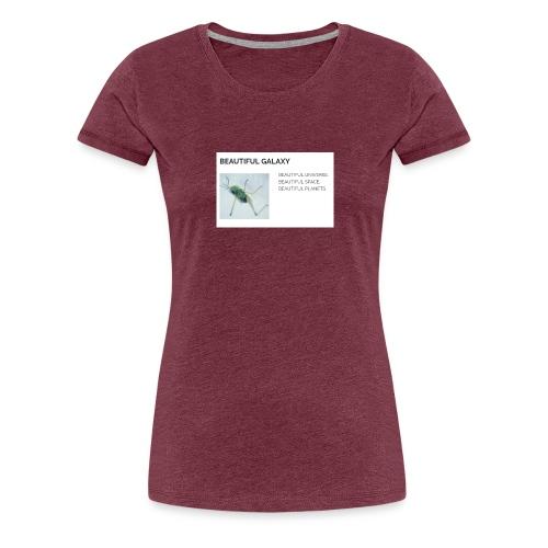 BEAUTIFUL UNIVERSE - Naisten premium t-paita