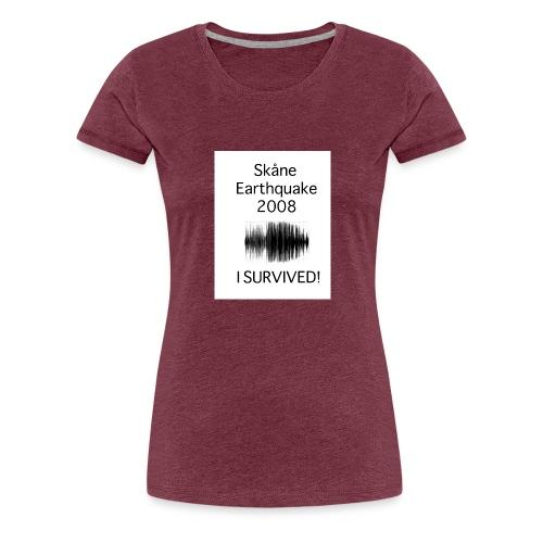 logga - Premium-T-shirt dam