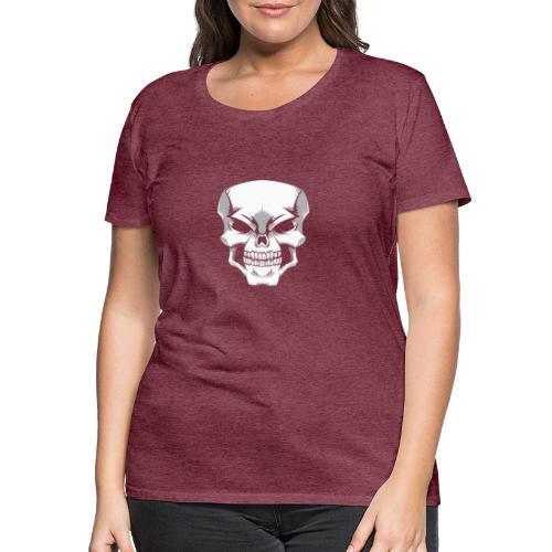 Skull - Camiseta premium mujer