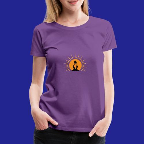 Guramylyfe logo no text black - Women's Premium T-Shirt