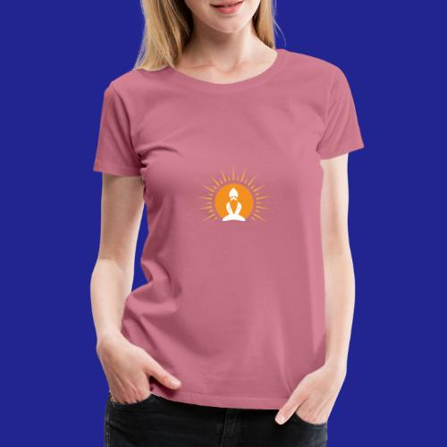 Guramylyfe logo white no text - Women's Premium T-Shirt