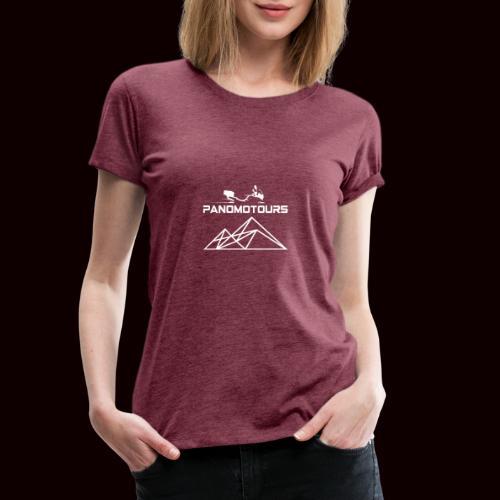 Panotours WHITE - Frauen Premium T-Shirt