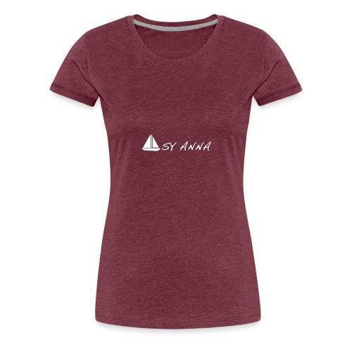 S/Y Anna - Dame premium T-shirt