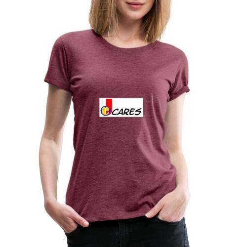 Joe Cares Logo light - Frauen Premium T-Shirt