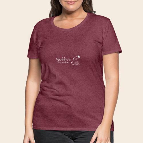 Académie des chiens de Maddie (blanc) - T-shirt Premium Femme