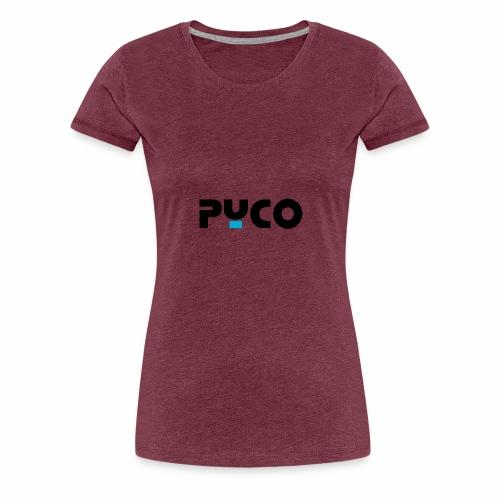PYCO NOIR bleu 4000 - T-shirt Premium Femme