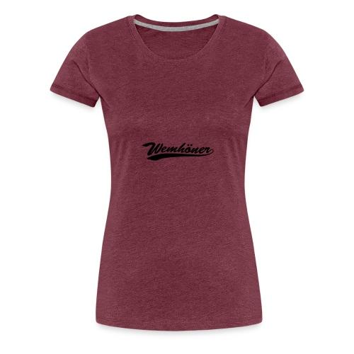 wemhoner - Women's Premium T-Shirt