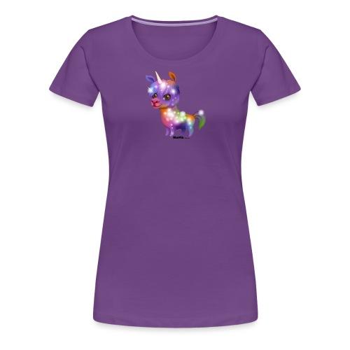 Llamacorn - Vrouwen Premium T-shirt