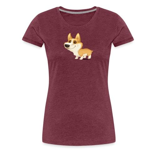 corgi - Naisten premium t-paita
