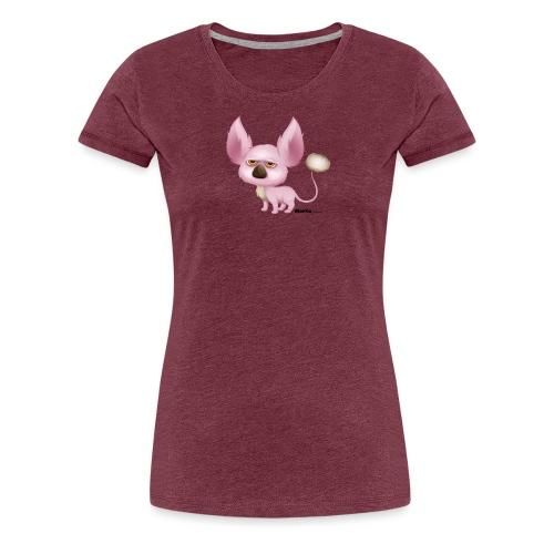 Halloween-animo - Dame premium T-shirt