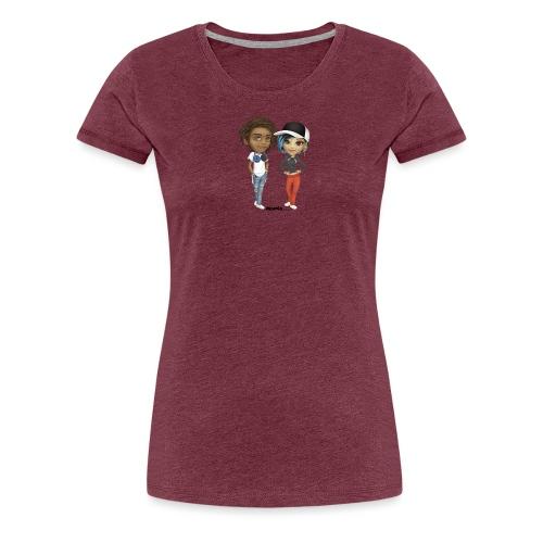 Maya & Noa - Premium T-skjorte for kvinner