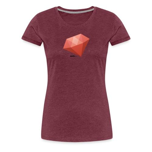 Diamant - Dame premium T-shirt