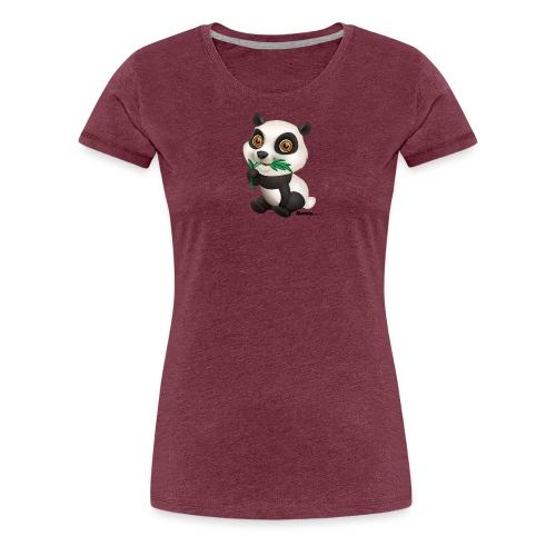 Panda - Naisten premium t-paita