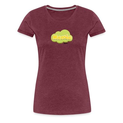 Momio-logo - Naisten premium t-paita