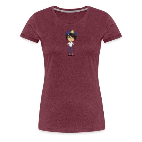 Momio police - Vrouwen Premium T-shirt
