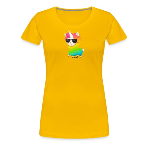 Regenboog animo - Vrouwen Premium T-shirt