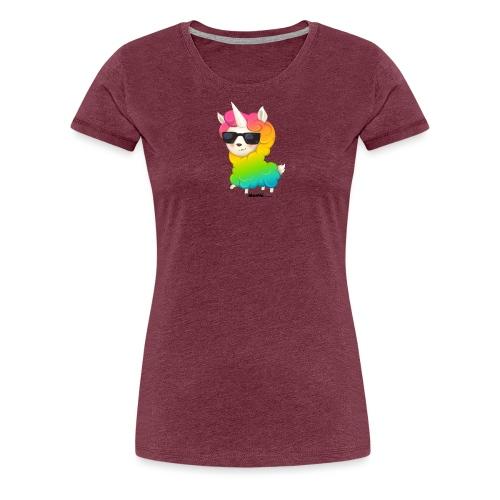 Regenbogenanimation - Frauen Premium T-Shirt