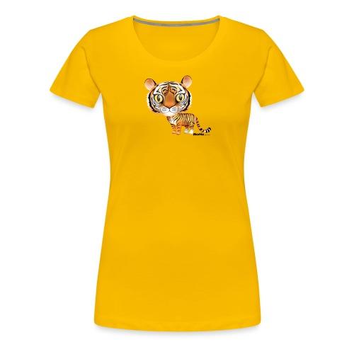 Tijger - Vrouwen Premium T-shirt