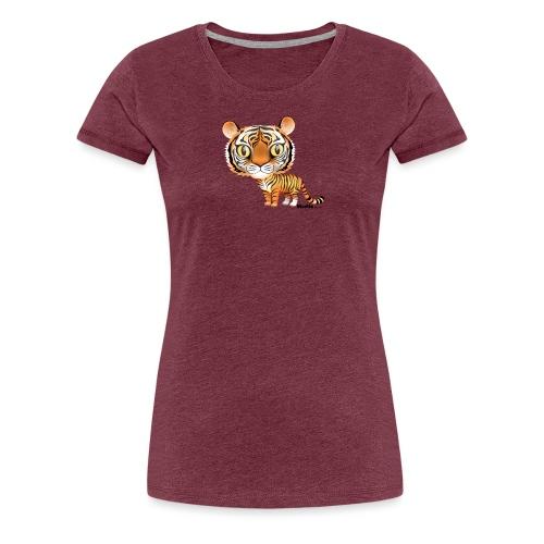 Tiger - Dame premium T-shirt