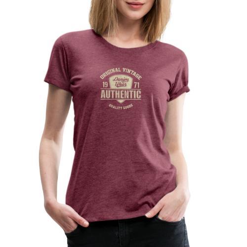 Authentic - Maglietta Premium da donna
