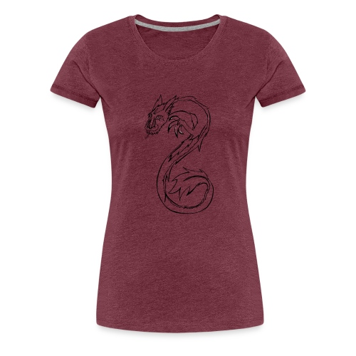 König der Winde - Frauen Premium T-Shirt