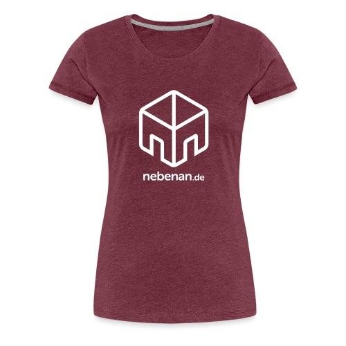 nebenan.de Logo - Frauen Premium T-Shirt