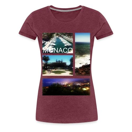 monaco - Vrouwen Premium T-shirt