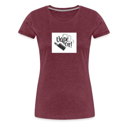 Mrvaper2016 vape on phone case - Women's Premium T-Shirt
