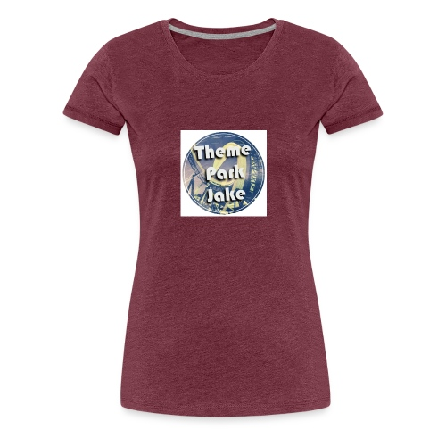 THEME PARK JAKE LOGO - Women's Premium T-Shirt