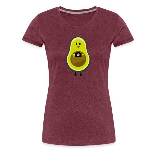 AvocadoKamera - Frauen Premium T-Shirt