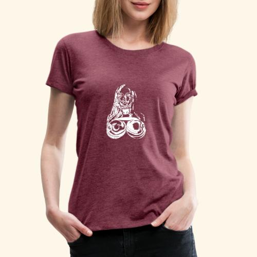 girl white - Camiseta premium mujer