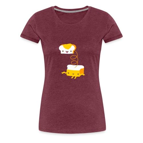 Cat sandwich gatto sandwich - Maglietta Premium da donna