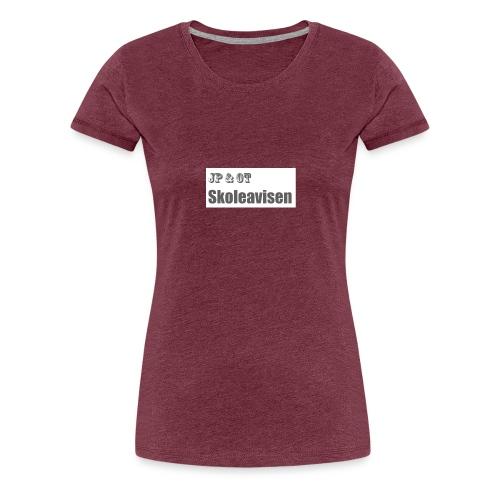 JP_-_OT_Skoleavisen_logo - Premium T-skjorte for kvinner
