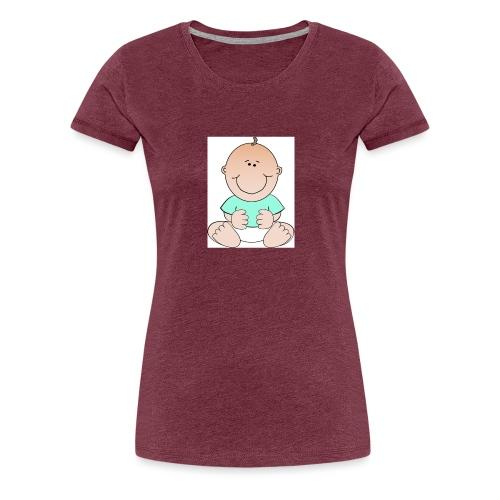 rompertje baby jongen - Vrouwen Premium T-shirt