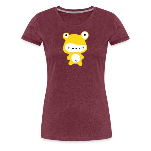 BIG orange Frog - Frauen Premium T-Shirt
