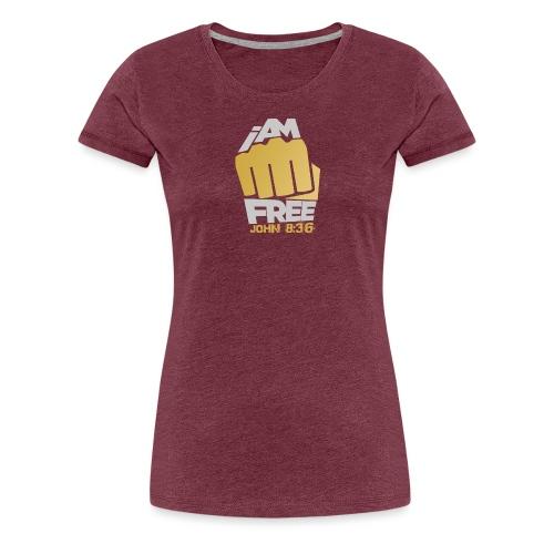 I Am Free - Women's Premium T-Shirt
