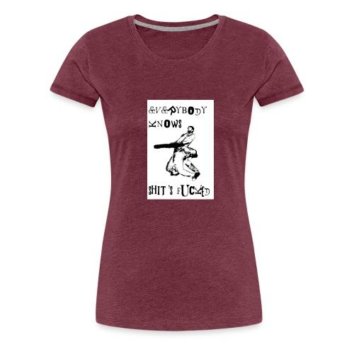 eksf reggie woods - Women's Premium T-Shirt
